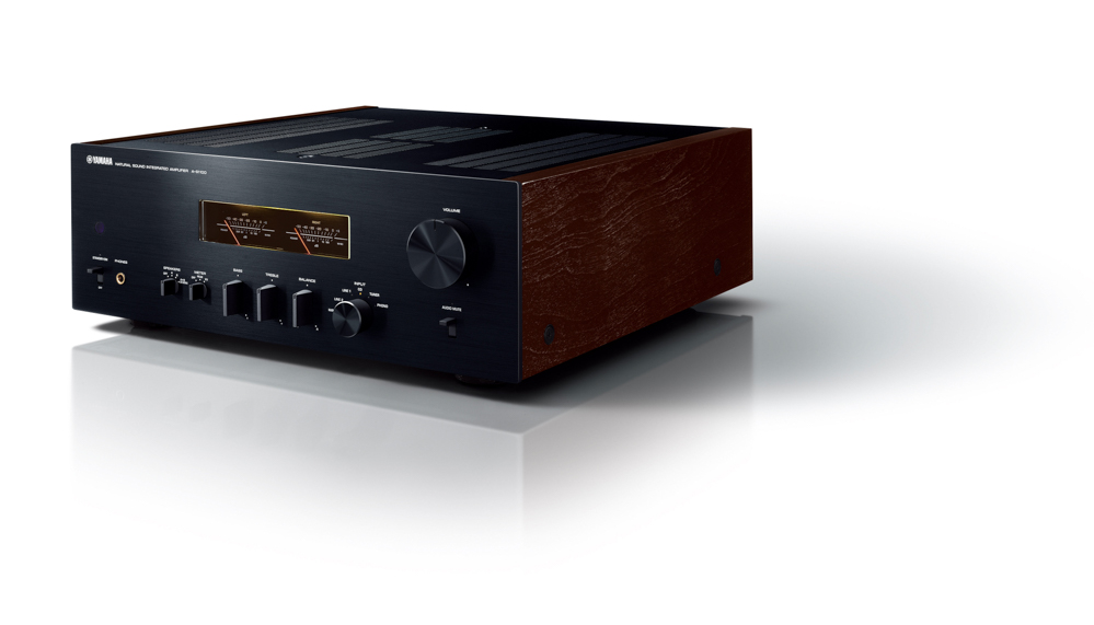 A-S1100 - New integrated amplifier with retro design from Yamaha